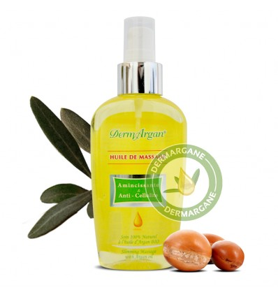 Anti-cellulite Oil & Slimming Oil / Natural Body Oil With Argan Oil and Essentials Oils. Firming Body