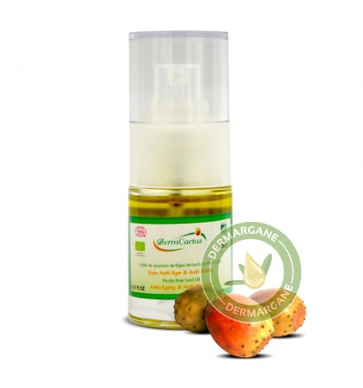 Premium Anti-Ageing - Anti-Wrinkles Face Serum With Pure Organic Prickly Pear Seed Oil. Facial Oil